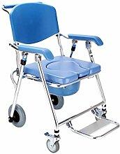 LLT Pratique Toilettes Chaise Chevet Roulant