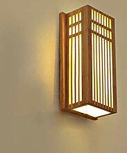 LMAMZ Applique Murale Bambou pour Salon, Applique