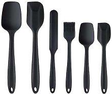 LMETJMA – ensemble de spatules en Silicone,