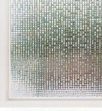 LMKJ Film de fenêtre décoratif 3D Vinyle