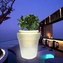 LNIMIKIY Pot de fleurs lumineux - Éclairage