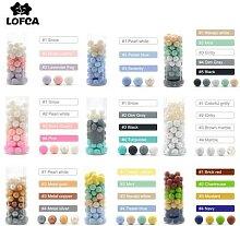 LOFCA – Lot de perles de dentition en silicone