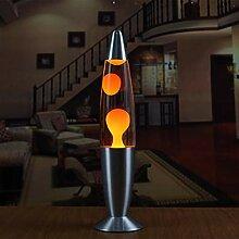 Lofenlli Lampe métallique de lave à la base de