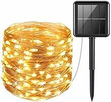 Logo JSNRY LED Solaire de lumières de Fil de
