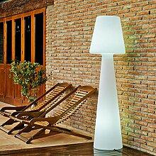 LOLA - Lampadaire d'extérieur H 165cm Blanc New