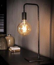 Lola Lampe De Chevet Industrielle Métal