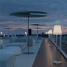 LOLA SLIM-Lampadaire d'extérieur LED solaire