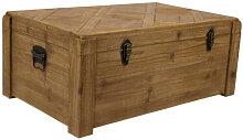 LON - Malle de rangement en bois
