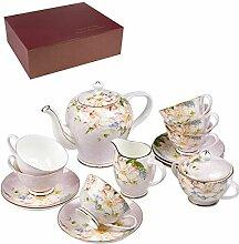 London Boutique Service à thé 15 pièces Royal