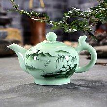 Longquan – service à thé céladon, théière