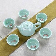 Longquan – service à thé en céramique,