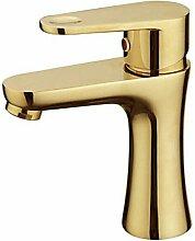 Lookshop - Robinet de lavabo plaque or