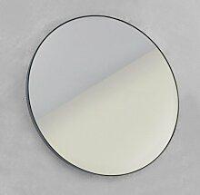 Looox Mirror Miroir rond 100cm noir SPBLR1000