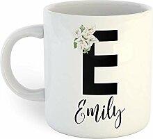 Loral E Mug à café personnalisé