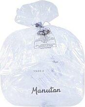 lot de 1000 sacs-poubelle transparent 13 microns