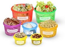 Lot de 14 boîtes alimentaires sans BPA : x 1