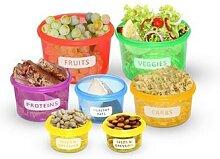 Lot de 14 boîtes alimentaires sans BPA : x 2