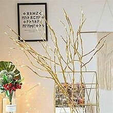 Lot de 2 Branches Arbres Lumineux LED 74cm 20-LEDs