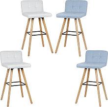 Lot de 2 Chaise de Cuisine Salle à Manger Design