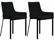 Lot de 2 Chaises de salle à manger Chaises