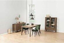 Lot de 2 chaises de table BALA Vert - Vert