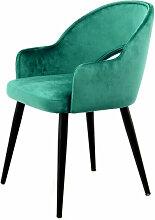 Lot de 2 fauteuils de table REBECCA Vert - Vert