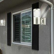Lot de 2 lampes d'extérieur LED éclairage