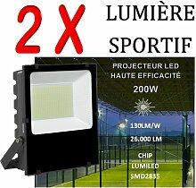 Lot De 2 Projecteurs Led Professionnel Lumiled Smd