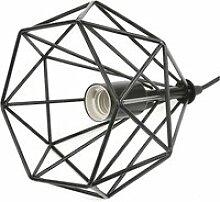 Lot de 2 suspension luminaire hombuy industrielle