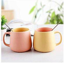 Lot de 2 tasses à café de style pastoral pour