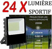 Lot De 24 Projecteurs Led Professionnel Lumiled