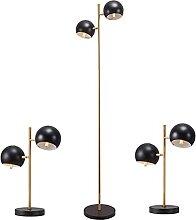 Lot De 3 Lampadaires De Table, 3 Pièces De Lampes