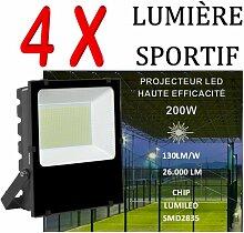 Lot De 4 Projecteurs Led Professionnel Lumiled Smd