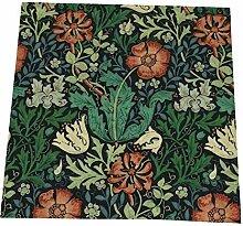 Lot de 4 serviettes de table William Morris