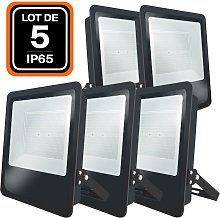 Lot de 5 Projecteurs LED Industriel MOON 500W
