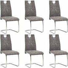 Lot de 6 Chaises de salle à manger Chaises