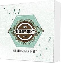 Lot de 6 dessous de verre « WortProject »