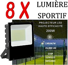 Lot De 8 Projecteurs Led Professionnel Lumiled Smd