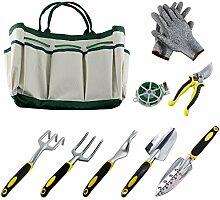 Lot de 9 outils de jardinage pour jardinage