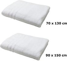 Lot linge de bain - une serviette de toilette et