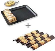 Lot Plaque à tuile + pâtisserie Mathon