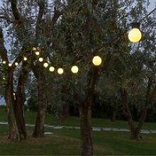 LOTTI Guirlande guinguette - Ampoules G50 LED -