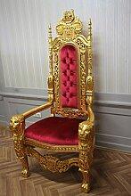 LouisXV Fauteuil Baroque Fauteuil Chaise trône