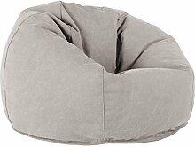 Lounge Pug®, Pouf Poire Classique, Stonewashed