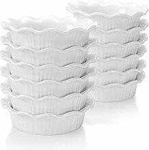 LOVECASA, Ramequin Dish en Porcelaine, Ramequin