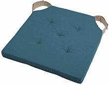 LOVELY CASA - Galette de chaise 38 x 38 x 4 cm -