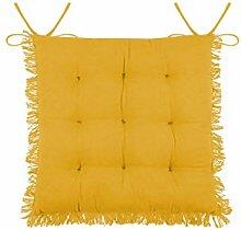 LOVELY CASA - Galette de chaise 40 x 40 cm -