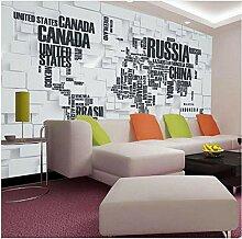 Lovemq Papier Peint Mural 3D Stéréoscopique Mur