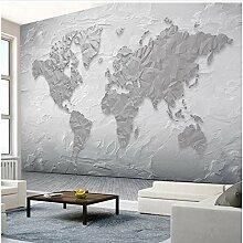 Lovemq Papier Peint Mural Pierre Texture Carte Du