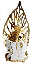 LQGSYT Alliage Céramique Poêle parfumée Poêle